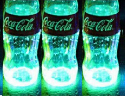 Краска люминесцентная AcmeLight для стекла (2К) голубая - изображение 2 - интернет-магазин tricolor.com.ua