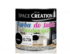 Интерьерная грифельная краска Space Creation черная - интернет-магазин tricolor.com.ua