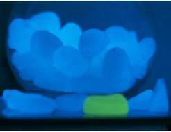 Светящиеся пластиковые камни AcmeLight PVC бирюзовые - интернет-магазин tricolor.com.ua