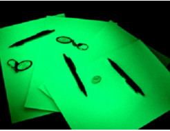 Купить Фотобумага А3 зеленое свечение - 1