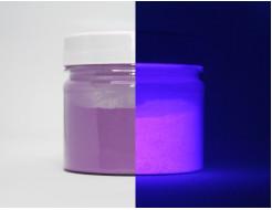 Люминесцентный пигмент Люминофор цветной Tricolor Purple To Purple фиолетовый