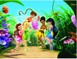 Детские фотообои Lux Design #3 Феи Дисней - интернет-магазин tricolor.com.ua