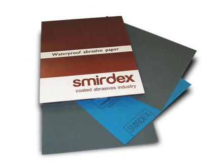 Бумага для мокрой шлифовки Smirdex 270 лист 230х280 мм зерно 80