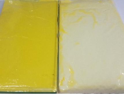 Пигмент термохромный +42 Tricolor желтый - изображение 2 - интернет-магазин tricolor.com.ua