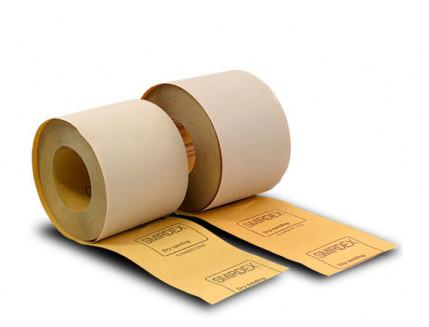 Бумага для сухой шлифовки Smirdex 510 рулон 116 мм 25 м зерно 180