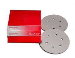 Бумага для сухой шлифовки Smirdex 510 круг 150 мм зерно 100