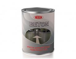 Краска алкидная Mixon Beton для бетона белая