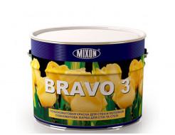 Краска для стен и потолка Mixon Bravo 3 белая матовая