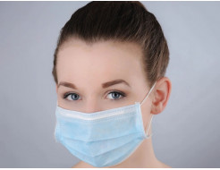 Маска хирургическая Polix Pro&Med трехслойная с носовым фиксатором BFE 99,9%