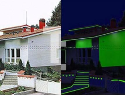 Краска люминесцентная AcmeLight для фасада классик - интернет-магазин tricolor.com.ua