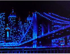 Краска люминесцентная AcmeLight для интерьера синяя - интернет-магазин tricolor.com.ua