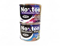 Флуоресцентная краска для систем безопасности NoxTon for Evacuation Signs белая - интернет-магазин tricolor.com.ua