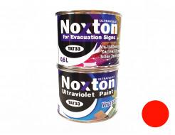 Флуоресцентная краска для систем безопасности NoxTon for Evacuation Signs оранжевая