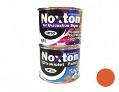 Флуоресцентная краска для систем безопасности NoxTon for Evacuation Signs темно-оранжевая