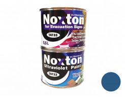 Флуоресцентная краска для систем безопасности NoxTon for Evacuation Signs темно-синяя