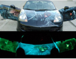 Краска люминесцентная AcmeLight для металла (2К) классик зеленый - интернет-магазин tricolor.com.ua