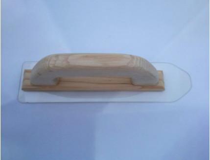 Гладилка (полутер) для жидких обоев Limil маленькая 230х60 мм