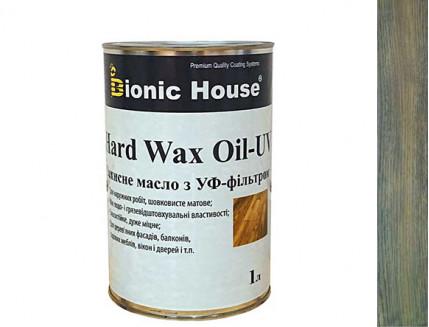 Масло для дерева Bionic House Hard Wax Oil - UV с твердым воском и УФ-защитой Грей - интернет-магазин tricolor.com.ua