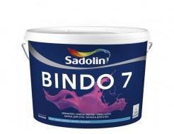 Краска для стен Sadolin Bindo 7 база BC матовая