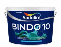 Краска для стен Sadolin Bindo 10 белая матовая моющаяся