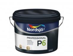 Краска для стен Sadolin Pro P6 белая матовая износостойкая