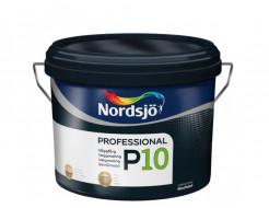 Краска для стен Sadolin Pro P10 белая полуматовая моющаяся