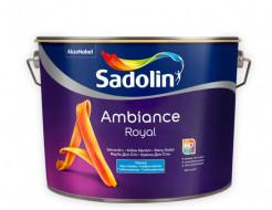 Краска для стен Sadolin Ambiance Royal белая глубокоматовая моющаяся