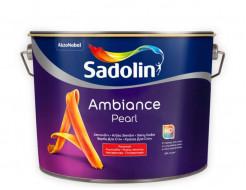 Краска для стен Sadolin Ambiance Pearl белая полуматовая износостойкая