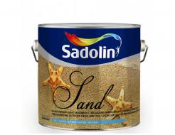 Краска структурная Sadolin Soft Sand структура мелкого песка