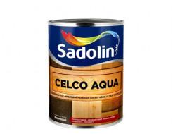 Лак для стен Sadolin Celco Aqua матовый