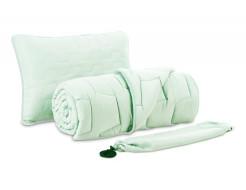 Комплект Dormeo AdaptiveGO АдаптивГоу мятный одеяло 200х200 и подушка 50х70 - интернет-магазин tricolor.com.ua