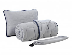 Комплект Dormeo AdaptiveGO АдаптивГоу серый одеяло 140х200 и подушка 50х70 - интернет-магазин tricolor.com.ua