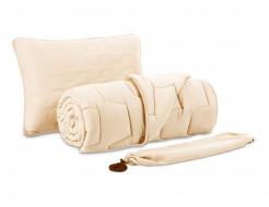 Комплект Dormeo AdaptiveGO АдаптивГоу кремовый одеяло 140х200 и подушка 50х70 - интернет-магазин tricolor.com.ua