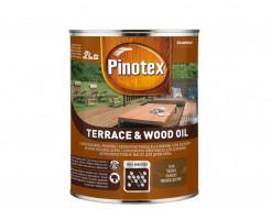Масло для дерева Pinotex Terrace & Wood Oil атмосферостойкая - интернет-магазин tricolor.com.ua