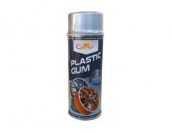 Спрей-краска жидкая резина Champion Plastic Gum серебристая - интернет-магазин tricolor.com.ua