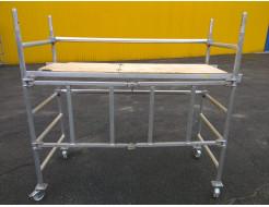 Подмости передвижные Будмайстер алюминиевые ПСП-2000-С1 1,0  0,6*1,8 - интернет-магазин tricolor.com.ua