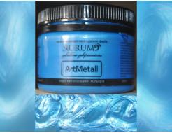 Декоративная краска с эффектом металлик  Aurum AtrMetall голубая бронза - интернет-магазин tricolor.com.ua