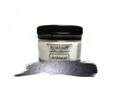 Декоративная краска с эффектом металлик  Aurum AtrMetall графит