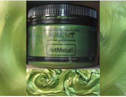 Декоративная краска с эффектом металлик  Aurum AtrMetall зеленая бронза - интернет-магазин tricolor.com.ua
