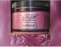 Декоративная краска с эффектом металлик Aurum AtrMetall розовый шелк - интернет-магазин tricolor.com.ua