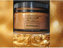 Декоративная краска с эффектом металлик  Aurum AtrMetall красное золото - интернет-магазин tricolor.com.ua