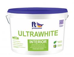 Краска интерьерная FT Pro UltraWhite Interior белоснежная глубокоматовая база А