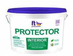 Краска интерьерная латексная FT Pro Protector Interior влагостойкая износостойкая матовая база А