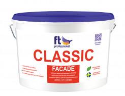 Краска латексная универсальная FT Pro Classic Facade пылеотталкивающая глубокоматовая база А
