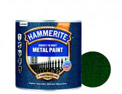 Краска антикоррозийная Hammerite 3 в 1 молотковая Темно-зеленая - интернет-магазин tricolor.com.ua