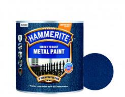 Краска антикоррозийная Hammerite 3 в 1 молотковая Темно-синяя - интернет-магазин tricolor.com.ua