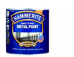 Краска антикоррозийная Hammerite 3 в 1 гладкая Белая - интернет-магазин tricolor.com.ua
