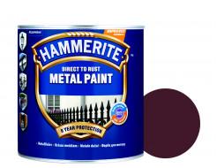 Краска антикоррозийная Hammerite 3 в 1 гладкая Темно-коричневая - интернет-магазин tricolor.com.ua