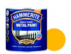 Краска антикоррозийная Hammerite 3 в 1 гладкая Желтая - интернет-магазин tricolor.com.ua