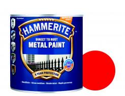 Краска антикоррозийная Hammerite 3 в 1 гладкая Красная - интернет-магазин tricolor.com.ua